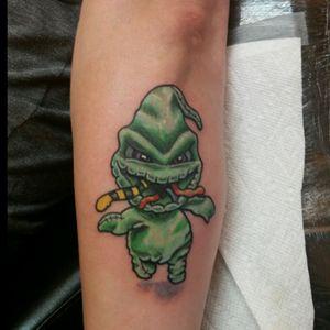 #oogieboogie #girlsandtattoos #nighmarebeforechristmas #ink #inkedaddict #tattooedfemale #followme #bestoftheday