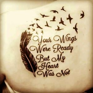 My shoulder tattoo in memory of my mother who we lost on Christmas day 2015.x