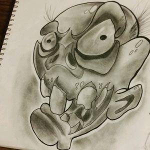 #art #newschool #tattoo_art_worldwide