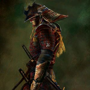#meagandreamtattoo  Hi friends I would like to become a tattoo of this samurai with a background of a cherry tree defoliating free hand and the names of my children in ancient Japanese....