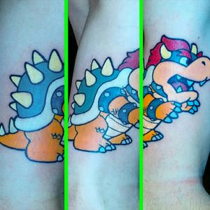 Bowser done by Sam Ramsey