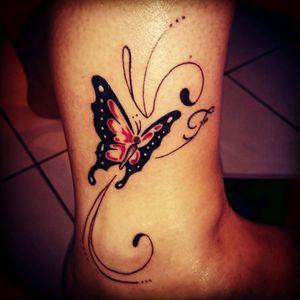 #butterfly #papillon #tattoo