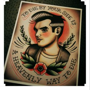 #megandreamtattoo #thesmiths #Morrissey #moz