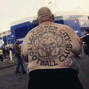 #leicester #footbalclub #england i#back #piece #big #guy #big #tattoo #pasion #love