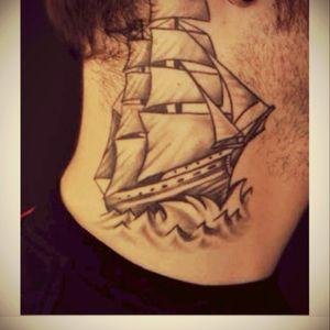 #pirateship  #pirateshiptattoo  #Sea #necktattoo