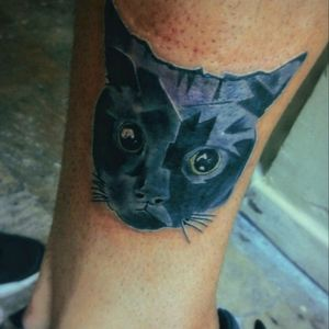 #cat #blackcat #blackcatink #blackcattattoo