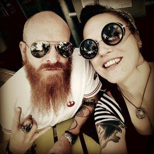 #tattooedcouple #relationshipgoals