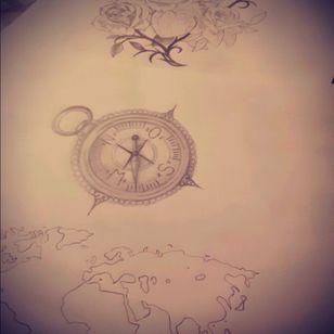 #comingsoon #nextyear #Slevee #roses #world #diamand #artist #drawing #selfmade #nexttattoo #cantwait
