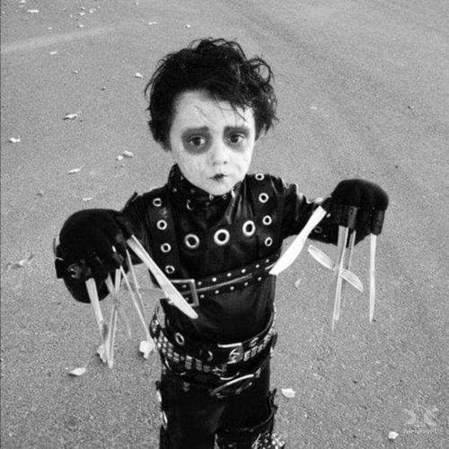 #littleboy #halloween #edwardscissorhands #like4like