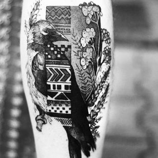 #bird #geoflower #leg