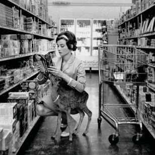 #audreyhepburn #deer #pet #supermarket #Tattoodo