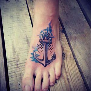 #Color #Anchor #Compass #Navy #Nautical #dotting