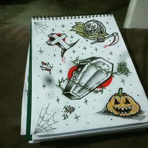 #halloween #flashart