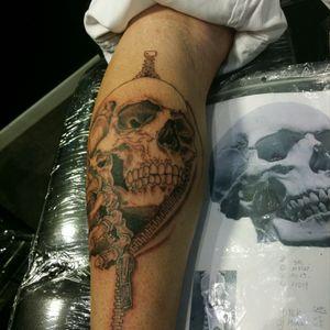 (STage 1) #bourgogne #faktattoo #tatooed #ink #skulltattoo #cranetattoo #joigny #inked #tattoo #tatoueur