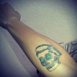 #skul #arm_tattoo