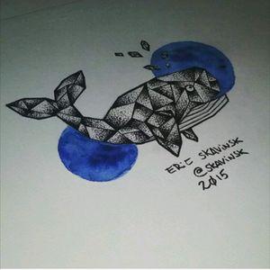 Instagram: @skavinsk #ericskavinsktattoo #tattoodo #artfusion #namps #eletricink #whaletattoo #dotworktattoo #watercolortattoo #sketchtattoo #tattooartist #exclusivetattoo #instatattoo #instaink