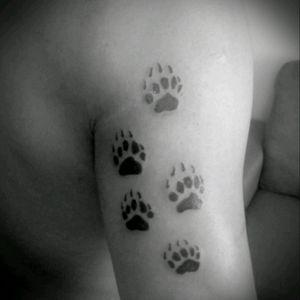 #FrikInk #CDMX #wolf #lobo #garras #arm_tattoo