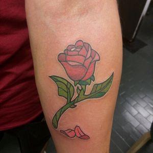 #rose #beautyandbeast #nofilter #labellaelabestia