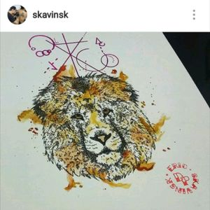 Instagram: @skavinsk  #ericskavinsktattoo #liontattoos #leao #dotworktattoo #pontilhismo #watercolortattoo #watercolour #aquarelatattoo #aquarela #color #geometrictattoo #tattoogeometrica #draw #arte #ink #inked #tatuagem #tattoo #tattoosp #tattooosasco #osascotattoo #tattoobrasil #drawing4tattoo #tattoodo #artfusion #namps #eletricink