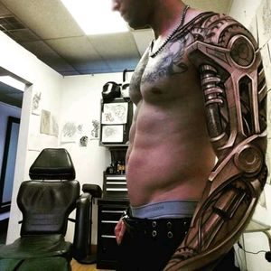 Amazing sleeve in 3D style #sleeve #3D