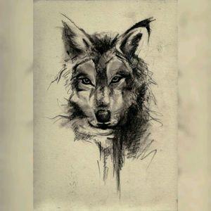 ANIMAL #wolf #wolftattoo #anger #sketch #drawing #blackAndWhite #animal #wildlife #forest #tatoo #inklife #eyes #dog #savage #savages #design #deventer