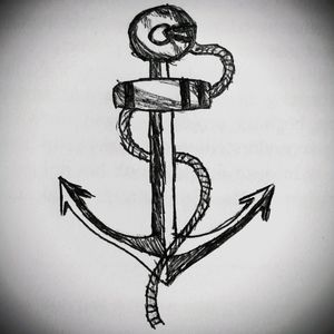 A PIRATES LIFE FOR ME #pirate #sea #captain #simple #anchor #owndesign #drawing #sailor #pirateslifeforme #sailor #ocean #deventer
