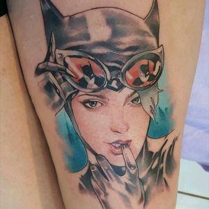 #Catwoman #catwomantattoo #batman #dcccomics