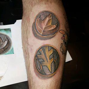 Power Rangers hahaha #jerrellarkins #ink #tattoo #coloradotattooartist #dallastattooartist #PowerRangers #fusionink