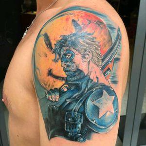 #watchmen #superhero #thecomedian