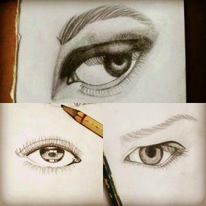 #sketch #eyes #eye #pencil #pencilart