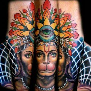 #Hanuman #Hindu #Contemporary #Hyperrealism #Eye #Mandala #Geometry #SacredGeometry #Forearm