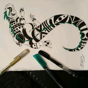 Tiki Lizard 💪💪