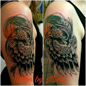 #owltattoo #tattoolove #inked #tattoo #eule #inked4life #tattooidea #inkspiration