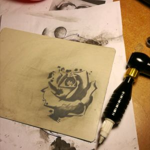 Rose #rose #practiceskin #slovakia #levoca #bukwac #tattoobeginner