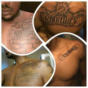#Brothers #ambigram  #ambigramtattoo
