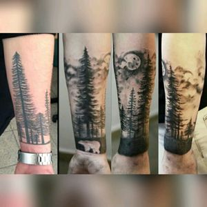 #forest #tattoo #Cover_up