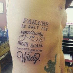 #script #tattoo #RibsTattoo