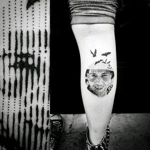 #tattoo #love #life #passion #extreme #dotwork #dotworkers #geometric #geometrictattoo #sacredgeometry #tattooartist #symbol #mandala #tattoos #mandalas #buddha #spiritual #meditation #blackwork #portrait