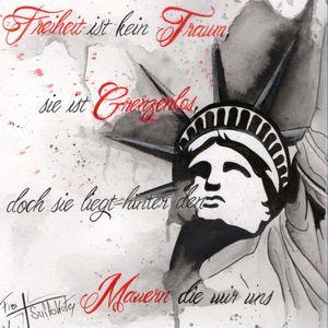 #Aquarell #watercolorart #Black #Red #statueofliberty #liberty #nolimits #drawingbyme #penandpaper #art