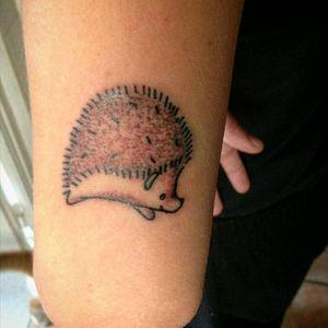 Riccio da 03RL. #curlytattoo #TattooWork #arttattoo #ink #dotworkanimal