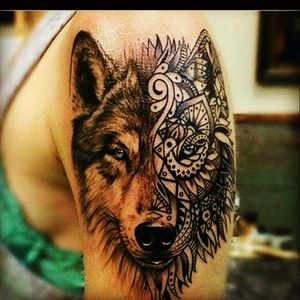 #wolf #animal #abstract