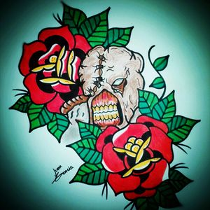 Diseño disponible para la GALAXY.CON Pamplona este 27 de noviembre interesados sólo se cobrará material EXPOTATTOO @juankartes901214 ... BRONCOS TATTOO ESTUDIO ... Pamplona 3213162129 - @juankartes901214 ... #colores #oldschooltattooflash #oldschool #oldschooltattoo #tattoos #tattoosofinstagram #tattoomagazine #tattoopassion #tattoopage #tattooparlor #tattoostudio #dibujo #flashtattoo #flashtattoos #pamplonacolombia #colombia #colombiatattoo #arttattoo #arte #art #rosas #residentevil #nemesis