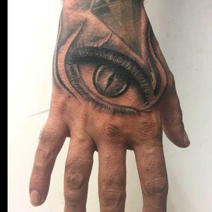 Eyes on hand #tattoo #ink #tattooitalia #tattooed