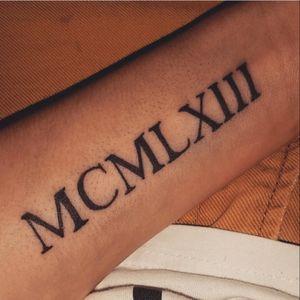 ○ MCMLXIII - 1963 ○ #Mommy #birthday #sleeve #romain