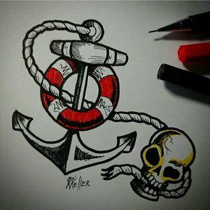 Estudando!!! #tattoo #anchor #ancora #tattoo2me #tatowierung #t4ttoois #tatouage #tonoinsptattoos #tattoodo #tattoobrasil #tattooart #tattooartist #tattooflash #tattooist #inked #inkedup #tatts #inkedlife #inkedlifestyle #inkaddict