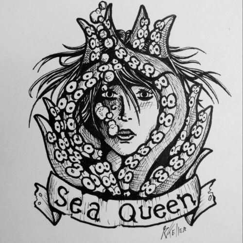 Sea queen... #drawing #drawing2me #tattoo2me #tattoo #tatowierung #t4ttoois #tatouage #tonoinsptattoos #tattoodo #tattoobrasil #tattooart #tattooartist #tattooflash #tattooist #inked #inkedup #tatts #inkedlife #inkedlifestyle #inkaddict