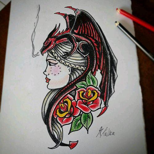 Daenerys - nascida da tormenta #daenerys #stormborn #drogon #gameofthrones #oldschool #drawing2me #drawing #dibujo #desenho #tattoo #tattoo2me #tatowierung #t4ttoois #tatouage #tonoinsptattoos #tatuaje #tattoobrasil #tattoodo #inspirationtatto #tattooed #tattooart #tattooflash #tattooist #inked #inkedup #inkedlife #inkedlifestyle #inkaddict #instagood