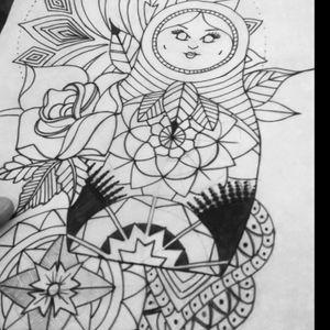 Tattoo design #tattoodrawing