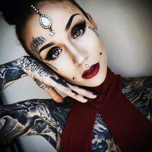 Monami Frost tattoo 💜
