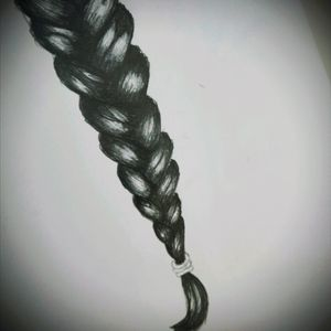 I was bored on a clock :D hair braid